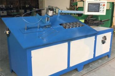 2D CNC Altzairu Steel Wire bihurgailuaren makina