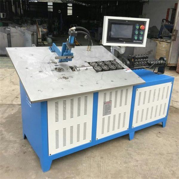 Hot salmenta automatikoa 3d altzairuzko alanbre konformazio makina CNC 2d alanbre bihurgailuaren makina prezioa