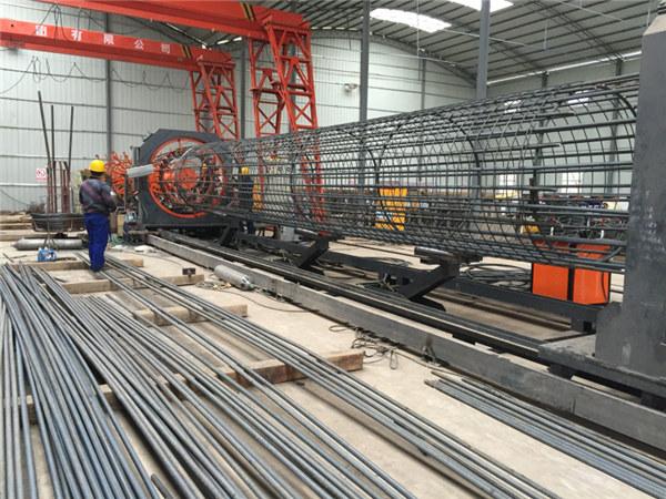 Prezioa altua soldatutako alanbre sare bobina makina, Kaiola seam welder diametroa 500-2000mm indartzeko