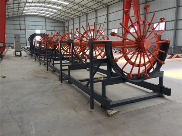 CNC sendotze pila Steel Rebar Cage Soldadura Makina egitea