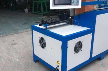 6mm altzairuzko alanbre-esekigailua makina makina unibertsala altzairu herdoilgaitzezko saskia cnc alanbre bender